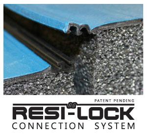 Zip Mat Connector Close-up