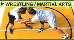 Wrestling Mats & Martial Arts Mats.