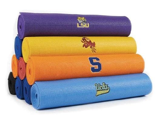 College Logo Yoga Mats