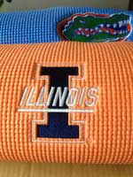 University of Florida Yoga Mat and Other College Yoga Mats With Logo