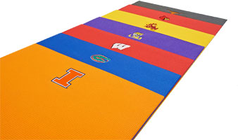 University of Wisconsin Yoga Mat and Other College Yoga Mats