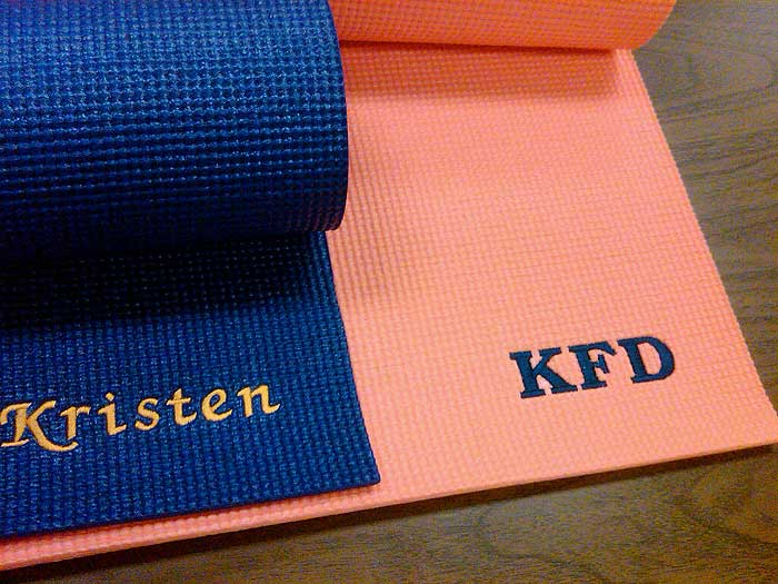 mats exercise market custom llyv etsy personalized fitness monogrammed gym il yoga pilates mat