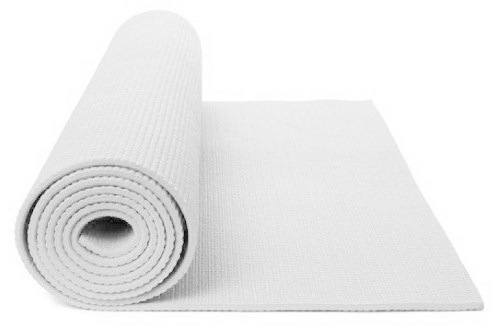 White Yoga Mat Wow