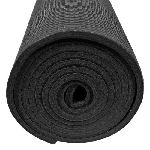 Purple Yoga Mat Texture Black